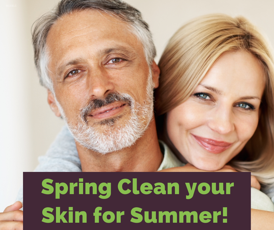 Spring clean your skin for summer.